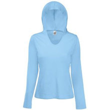 "Футболка ""Lady-Fit Lightweight Hooded T"""